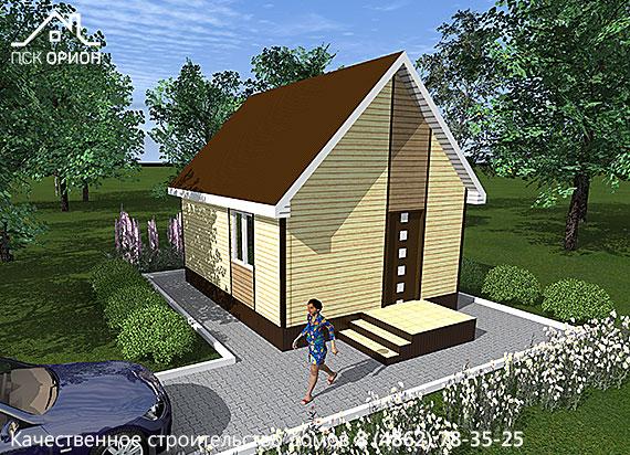 Проект «Дачный дом 2-2»