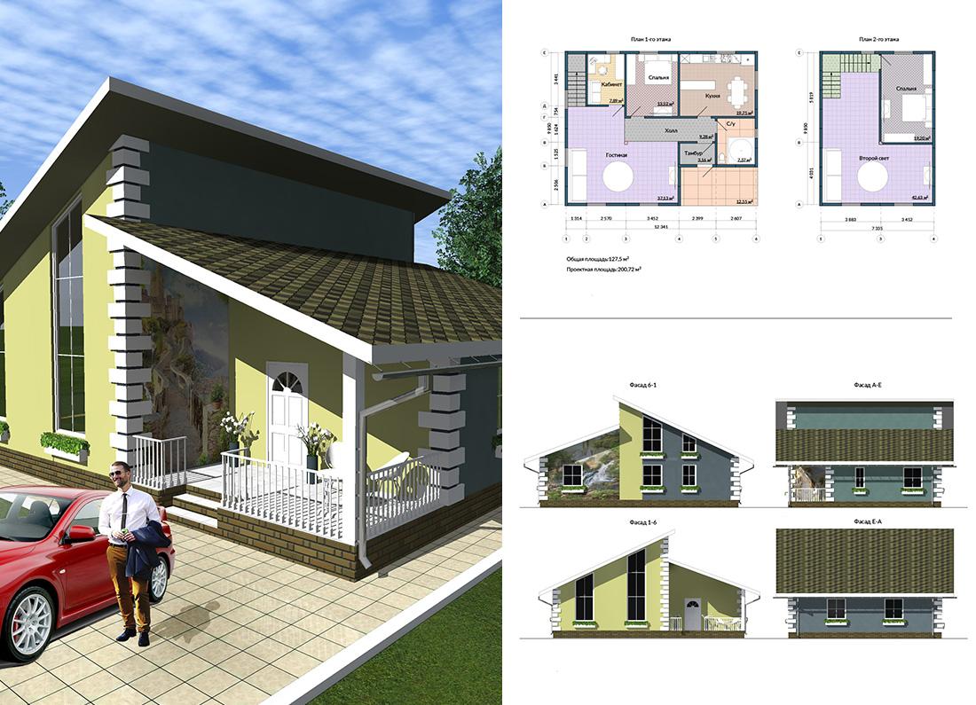 Проекты малоэтажного строительства