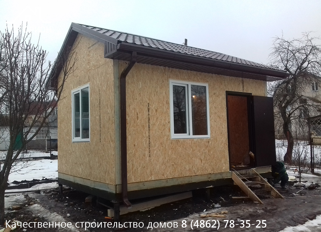 Мы завершили строительство дачного дома в городе Орле!