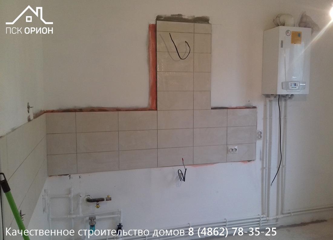 Мы ведем строительство жилого дома «Под ключ» в Орловском районе.