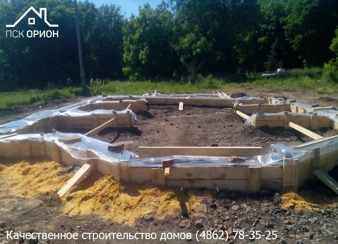 Мы приступили к строительству православного Храма в Залегощенском районе Орловской области.