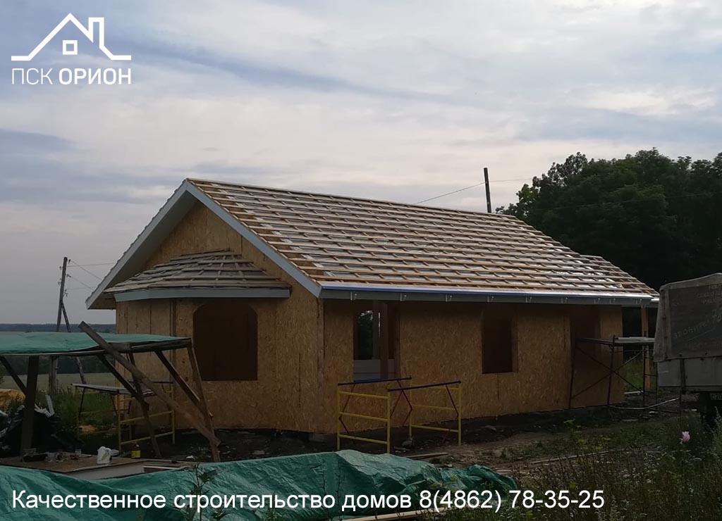 Мы ведем строительство православного Храма в Залегощенском районе.