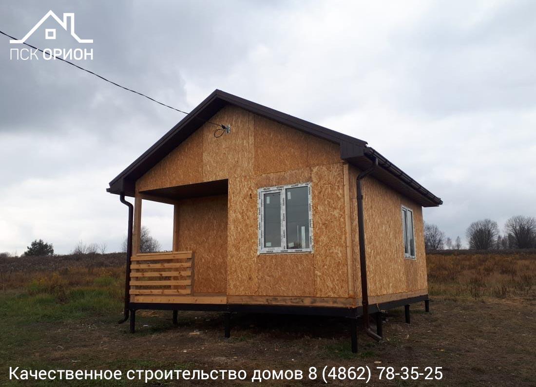 Мы завершили строительство дачного дома 35 м2 в Урицком районе.
