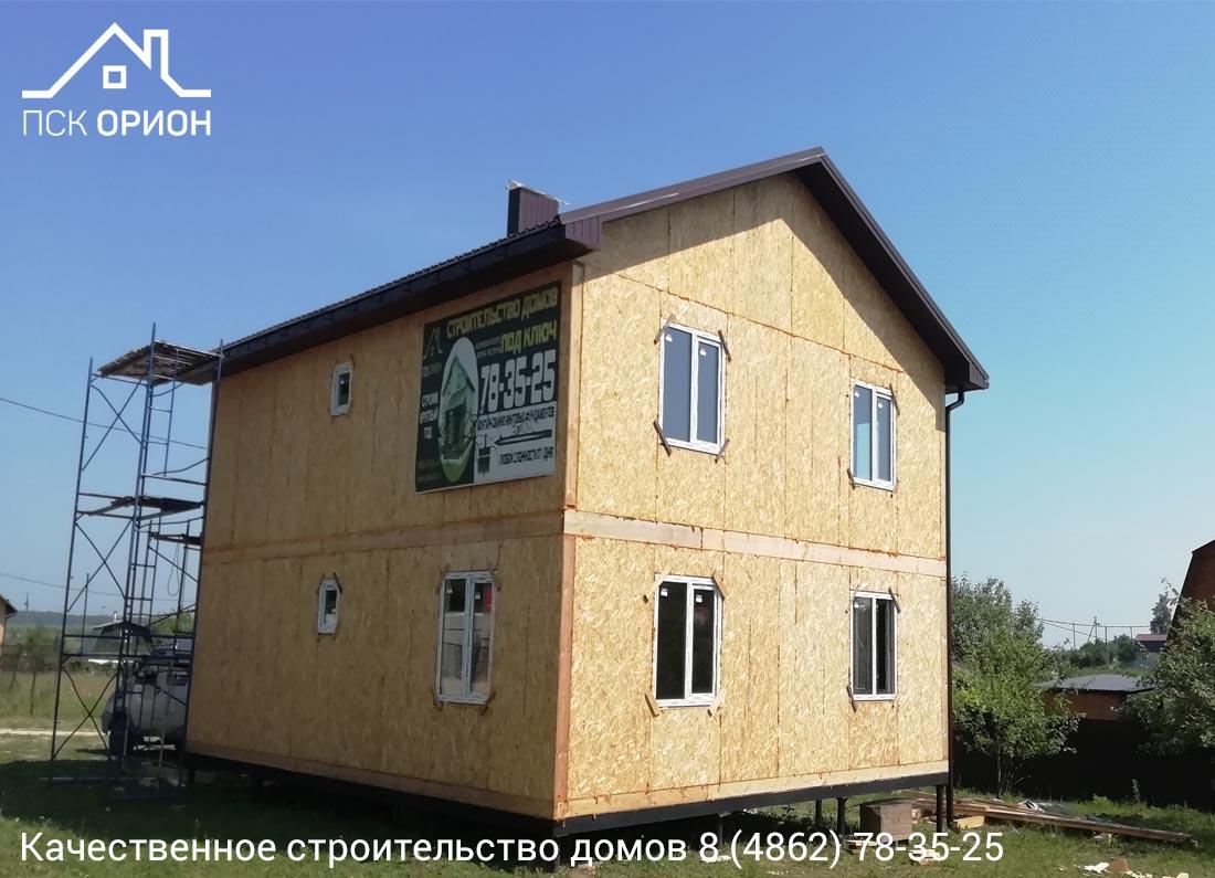 Мы ведем строительство жилого дома 162 м2 в Орловском районе.