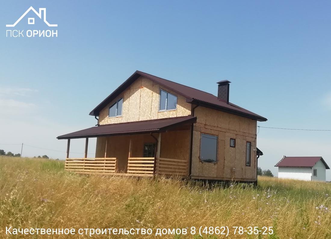 Мы завершили строительство жилого дома 177 м2 в Орловском районе.