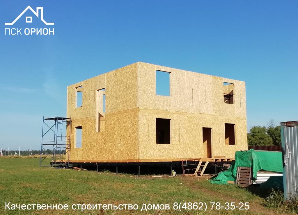 Мы ведем строительство жилого дома 230 м2 в Орловском районе.