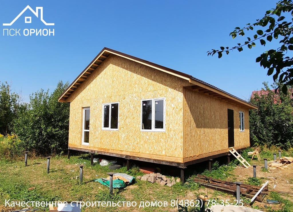 Мы завершили строительство жилого дома 75 м² в г. Орёл.