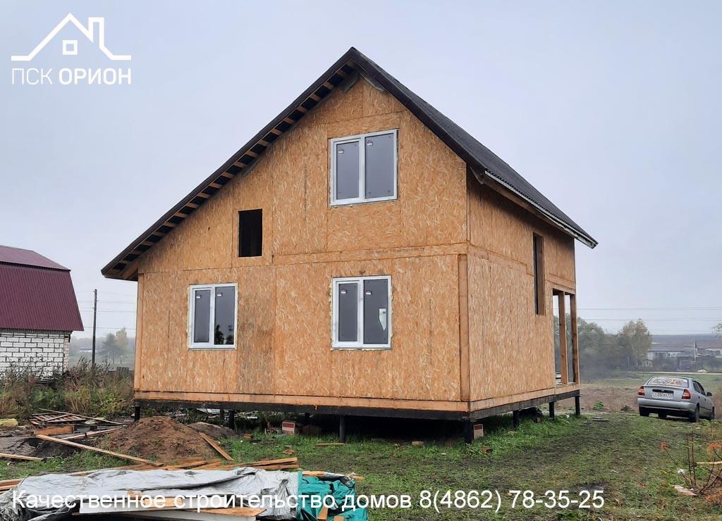 Мы ведём строительство жилого дома 100 м² в Орловском районе.